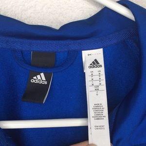 adidas Jackets & Coats - Dark Blue Adidas Track Jacket